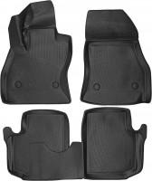 Коврики в салон для Fiat 500L '13- полиуретановые, черные (L.Locker)