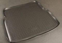 Коврик в багажник для Renault Symbol '01-08 седан, полиуретановый (NorPlast) черный