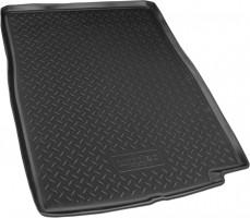 Коврик в багажник для BMW 7 F02 '08-15, Long, резино/пластиковый (NorPlast) черный
