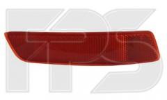 Фонарь задний для Toyota Corolla '13- седан, правый, в бампер (катафот) (DEPO)
