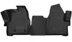 Фото 1 - Коврики в салон 3D для Ford Tourneo Custom '13- полиуретановые (Novline) 1+2