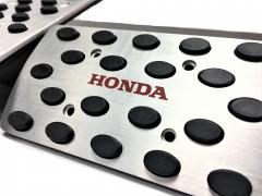 Фото 2 - Накладки на педали Honda АКПП 3 шт. (J-tec)