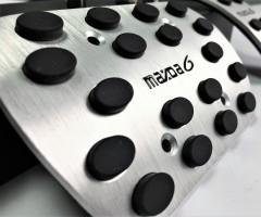 Фото 4 - Накладки на педали Mazda 6 АКПП 3 шт. (J-tec)