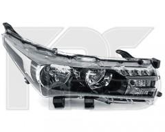 Фара передняя дляToyota Corolla с 2013- левая (DEPO) электрич.