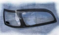 Защита фар для Nissan Murano '03-08 карбон 2 шт. (EGR)