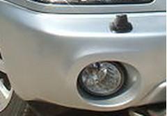 Защита противотуманных фар для Subaru Forester '03-05 прозрачная 2 шт. (EGR)