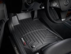 Фото 2 - Коврики в салон для Mercedes E-Class W212 2009 - 2015 черные, резиновые 3D (WeatherTech)