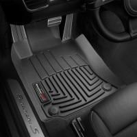 Фото 2 - Коврики в салон для Porsche Panamera 2010 - 2016 черные, резиновые 3D (WeatherTech) Long