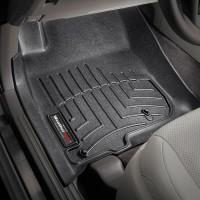 Фото 2 - Коврики в салон для Toyota LC Prado 150 2010 - 2013 черные, резиновые 3D (WeatherTech)