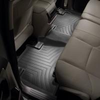 Фото 3 - Коврики в салон для Toyota LC Prado 150 2010 - 2013 черные, резиновые 3D (WeatherTech)