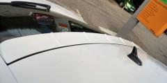 Спойлер заднего стекла для Skoda Octavia A7 2013-2015 под покраску (AutoPlast)