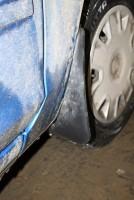 Брызговики передние для Ford Focus II '04-11 хетчбек/седан (Novline)