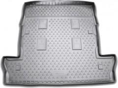 Коврик в багажник для Lexus LX 570 '08- (7 мест, длинный), полиуретановый (Novline) серый
