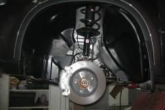 Подкрылок задний правый для Nissan X-Trail '08-10 (Novline)