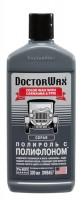 DoctorWax Цветной полироль с полифлоном, серый 300 мл