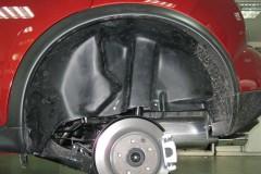 Подкрылок задний левый для Nissan Juke '11- (Novline)