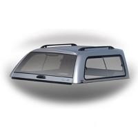 Боковое фиксированное стекло кунга для Mitsubishi L200 / Triton '05-15 (правое)