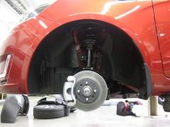 Подкрылок передний левый для Kia Rio '11-15 (Novline)
