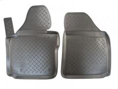Коврики в салон для Volkswagen Caddy '04-15 полиуретановые (Nor-Plast) передние