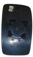 Вкладыш зеркала бокового для Fiat Scudo '07- правый SINGLE GLASS