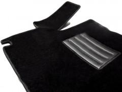 Фото 3 - Коврики в салон для Fiat Ducato '06- текстильные, черные (Люкс)