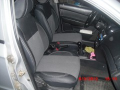 MW Brothers Авточехлы Premium для салона Chevrolet Aveo '04-11, седан серая строчка (MW Brothers)