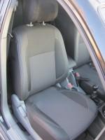 Авточехлы Premium для салона Chevrolet Lacetti '03-12 (SX, SE) серая строчка (MW Brothers)
