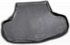 Коврик в багажник для Infiniti G35 Sedan '07-10, полиуретановый (Novline) черный