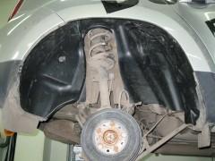 Подкрылок задний левый для Renault Duster '10- (Novline)