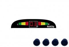 Парктроник Parkcity Madrid с датчиками темно-голубого цвета (4 датчика)