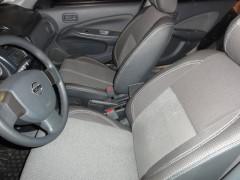 Авточехлы Premium для салона Nissan Almera Classic '06-13 красная строчка (MW Brothers)