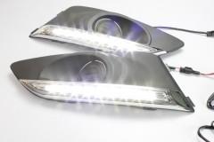 Дневные ходовые огни для Chevrolet Aveo '12- (LED-DRL)