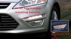 Фото 6 - Дневные ходовые огни для Ford Mondeo '11-14 (LED-DRL)