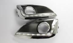 Фото 3 - Дневные ходовые огни для Hyundai ix-35 '10-15 V2 (LED-DRL)