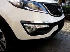 Фото 2 - Дневные ходовые огни для Kia Sportage '10-15 (ПТФ) (LED-DRL)