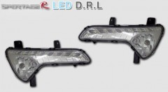 Дневные ходовые огни для Kia Sportage '10-15 (ПТФ) (LED-DRL)