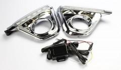 Дневные ходовые огни для Mazda CX-5 '12-15 (LED-DRL)