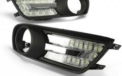 Дневные ходовые огни для Nissan Tiida '10- (LED-DRL)
