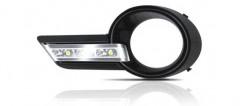 Дневные ходовые огни для Toyota Highlander '07-10 (LED-DRL)