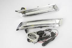Дневные ходовые огни для Toyota Highlander '10-13 V2 (LED-DRL)