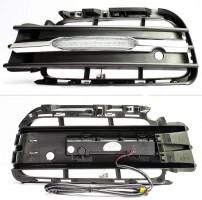 Дневные ходовые огни для Volkswagen Touareg '10- (LED-DRL)