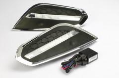 Дневные ходовые огни для Volvo S60 '10- (LED-DRL)