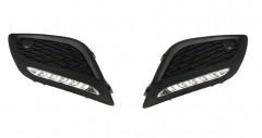 Дневные ходовые огни для Volvo XC 60 '09-17 (LED-DRL)