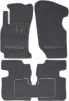 Коврики в салон для Honda HR-V '98-05 текстильные, серые (Люкс)