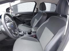 Авточехлы Premium для салона Ford Focus III '11-, хетчбек серая строчка (MW Brothers)