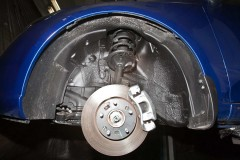 Подкрылок задний правый для Kia Cerato '09-13 (Novline)