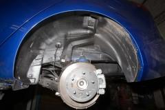 Подкрылок передний левый для Kia Cerato '09-13 (Novline)