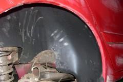 Фото 2 - Подкрылок задний правый для Mitsubishi Lancer 9 '04-09 седан (Novline)