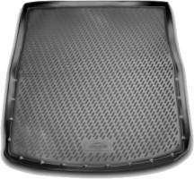 Коврик в багажник для Mazda 6 '13- универсал, полиуретановый (Novline) черный