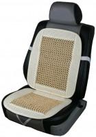 Накидка на сиденье CN 12511 с косточками MF-831-3 бежевая
